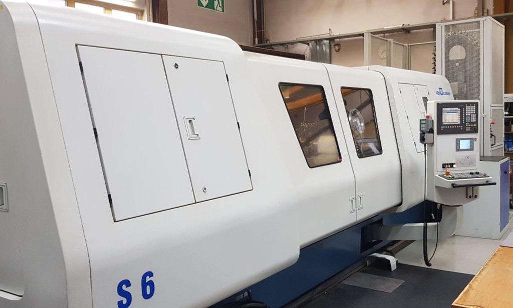 Schleifbearbeitungszentrum WOTAN® S6 U mit integriertem INDEX-Werkzeugwechsler