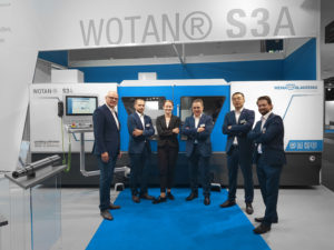 Die WOTAN® S3A auf der EMO 2019